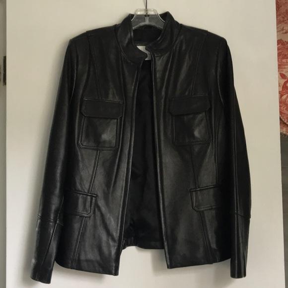 Liz Claiborne Jackets & Blazers - Sleek leather jacket